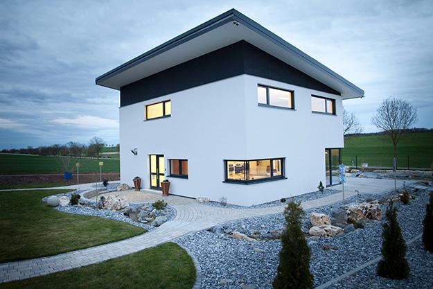 Bauiq das portal f r moderne wohnrauml ftung for Modernes haus selber bauen neubau